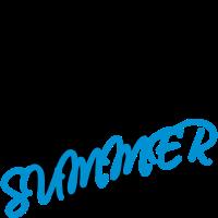 Text schwarz Sommer Flip-Flops