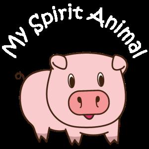Schwein Seelentier