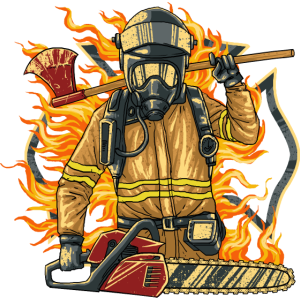 Freiwillige Feuerwehr Firefighter