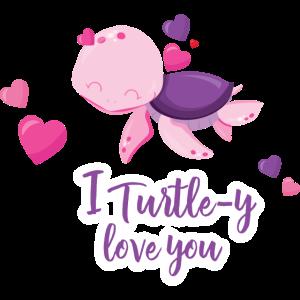 Verliebte Schildkröte