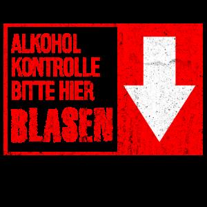 Alkohol Kontrolle Geschenk