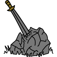 Holy Sword In Stone