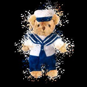 Teddybär Matrose