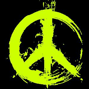 Hippy Peace Symbol Hippie Frieden Freiheit Liebe