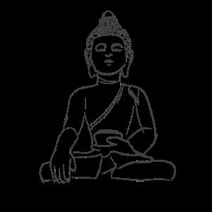 Yoga Figur Zeichnung