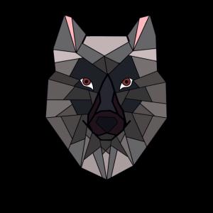 Hund Wolf Muster