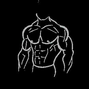 Muskelmann Geschenk