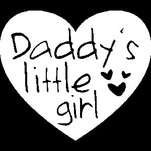 Daddys Little Girl - Papas kleines Mädchen weiß