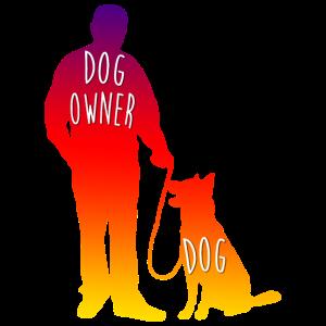 Hundehalter Herrchen