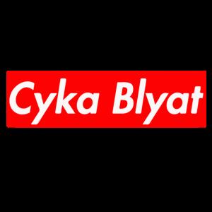 CS:GO - BOX LOGO PRINT - CYKA BLYAT - MERCHANDISE