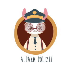 Alpaka Polizei