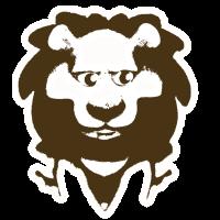 Löwe der nicht Bissig ist
