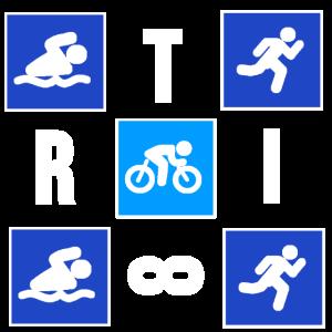 Triathlon TShirt Ironman Laufen Triathlet Geschenk