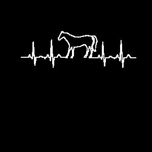 Heartbeat Horse Pferd Pferdeliebhaber Frau Tochter