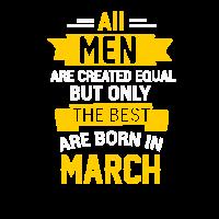 Geburtstag Geburtsmonat März March Männer