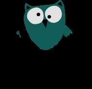 Neue Motive und Topseller: Eule lustig mit Spruch, Vogel