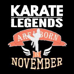 Karate-Legenden werden im November Boys geboren