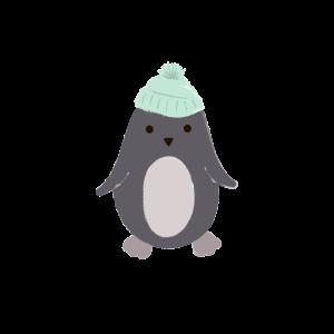 Pinguin Südpol Idee Spruch