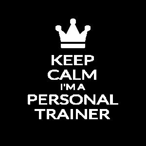 Behalten Sie ruhig, dass ich ein zertifiziertes persönliches Trainergeschenk bin