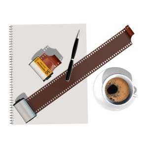 Fotograf fotografieren Kleinbildfilm retro kaffee