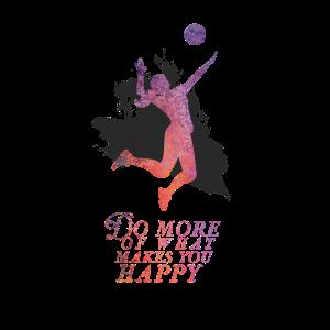 Volleybal Spielerin