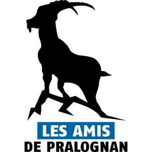 Logo Les Amis de Pralo grand noir bouquetin