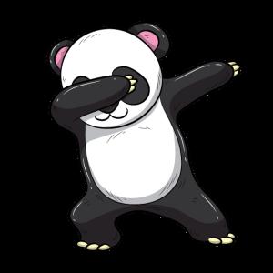 Dabbing Panda Bär Lustiges Kinder Shirt Geschenk