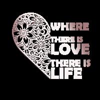 Liebe Lebenssinn Spruch Geschenk Paar Beziehung