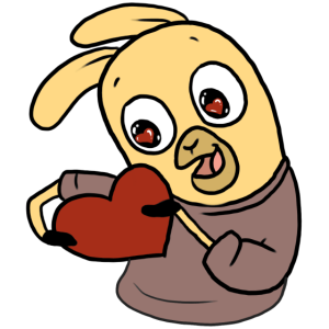 Lama Valentinstag