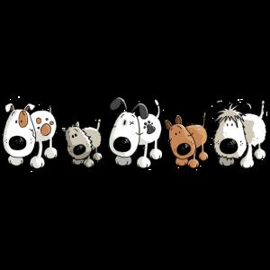 Funny Dogs - Hund - Hunde - Cartoon