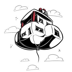 Ballon de maison