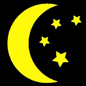 Mond Sterne