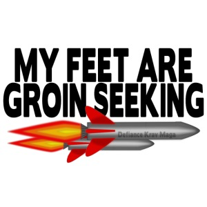 My Feet Are Groin Seeking Missiles