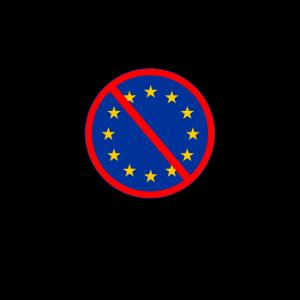 Stempel Fuck the EU Europa Brexit Großbritannien