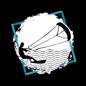Kitesurfen Ozean