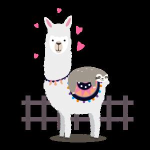 Faultier Lama