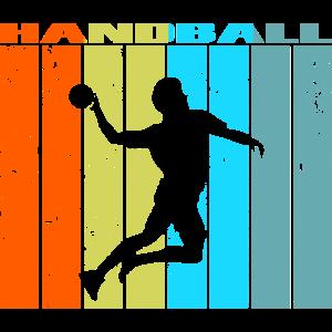 Handball Retro Vintage Geschenk