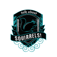Rede über Eichhörnchen Wappen Spruch Nager