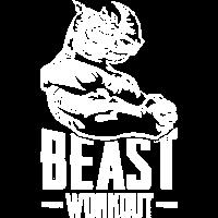 nashorn muskeln bodybuilding monster