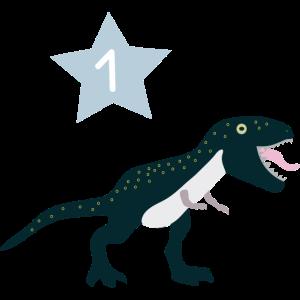 Erster Geburstag 1. Geburtstag Dinosaurier