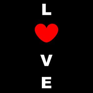 Love Tag der Liebe Herz Geschenk fuer Paare