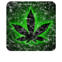 Cannabis Neon, Retro Washed