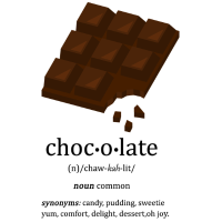 Schokolade Pudding Süßigkeit Schoko Geschenk