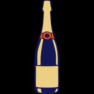 Champagner-Flasche Flasche Alkohol 2706