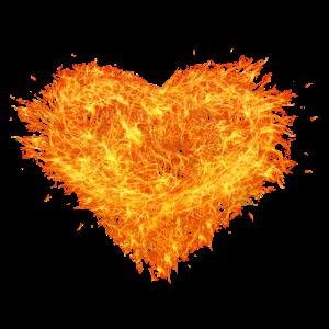 Flammen Herz