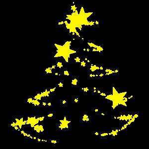 Sternen Weihnachtsbaum