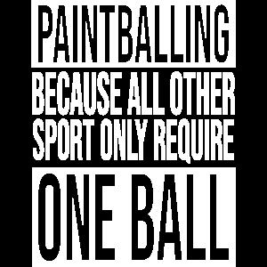 Paintball Team balls