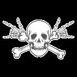 Deaf Skull with ILY Vintage