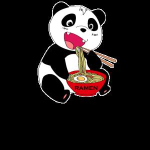 Ramen Nudeln Japan Panda