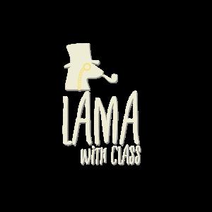Lama mit klasse stil elegant